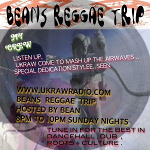 ukraw reggae trip 17/9/17 with selector Bean