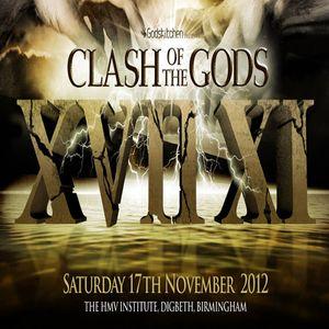 Jordan Suckley b2b Bryan Kearney - Live at Godskitchen - Clash Of The Gods XVII XI (UK) - 17.11.2012