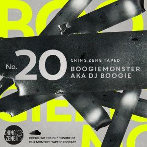Taped #20 - Boogiemonster aka DJ Boogie