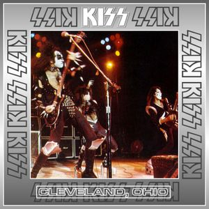 KISS - June 21st 1975 at Allen Theater in Cleveland, Ohio during the Dressed To Kill Tour