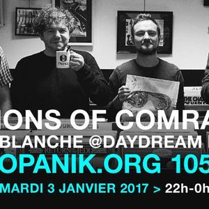 Daydream Nation carte blanche Billions of Comrades -  [PODCAST] – 03/01/2017