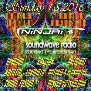 Podcast for Soundwave Radio rocking the World 24/7 >>> mixed by Ninjai 1.5.2016