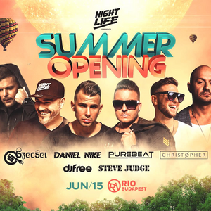 "2019.06.15. - NIGHTLIFE ""SUMMER OPENING"" - RIO, Budapest - Saturday"