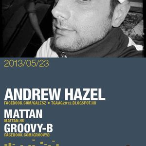 Backstage Radio Show Guest Mix By Andrew Hazel 2guys and a girl