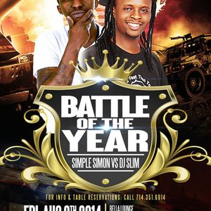 THE BATTLE OF THE YEAR ( AUDIO PROMO )