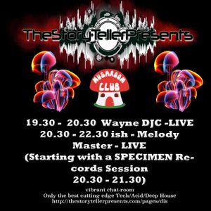 Melody Master Mushie Wednesday Live Warm Up by Wayne DJC 22/06/16