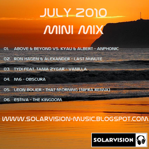 Solarvision - July 2010 Mini Mix
