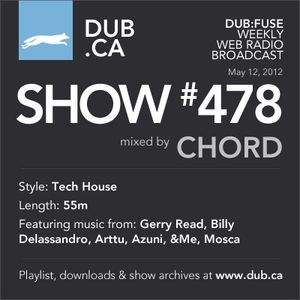 DUB:fuse Show #478 (May 12, 2012)