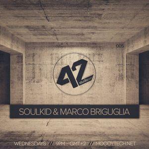 MARCO BRIGUGLIA - EXCLUSIVE STUDIO 42 PODCAST - FEB 2015