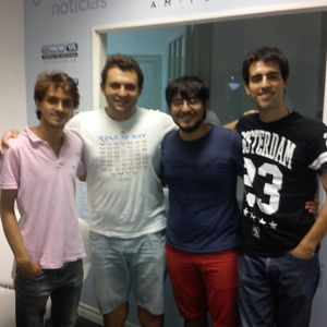 POR VELEZ Con Tomas Amerio,Sebastian Auro,Santiago Ocejo Y Nicolas Lalanne 3-7-2015
