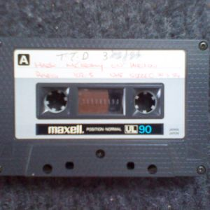 Mark McCarthy on Horizon Radio late February / March 1984, Very likely to have been My first show,