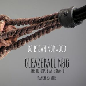 DJ Brian Norwood - SleazeBall NYC 2016 Live Set - DJ Set 4