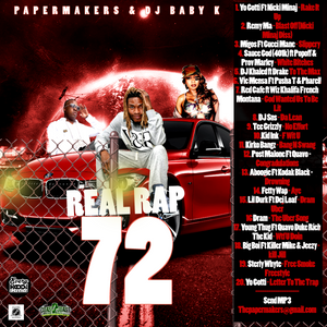 PAPERMAKERS & DJ BABY K - REAL RAP 72