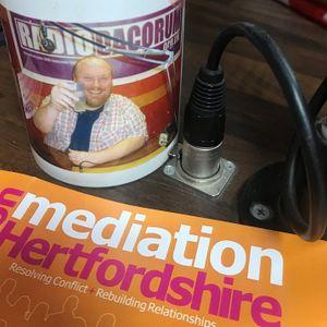 Mediation Hertfordshire interview Victoria Harris on Radio Dacorum with Matt Hatton