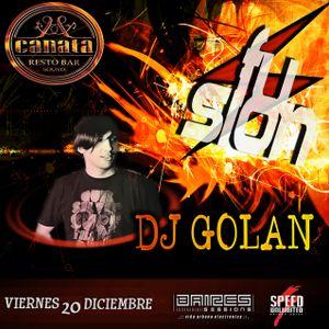 DJ Golan @ Canata (FUSION Fest!) 20-12-2013