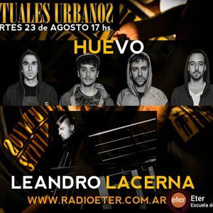 RITUALES URBANOS con HUEVO (Julián Baglietto) / LEANDRO LACERNA