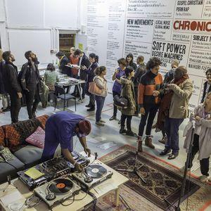 2015-11-20 The Showroom - The Chimurenga Library: Tour by Kodwo Eshun and Angalika Sagar