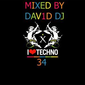 I LOVE TECHNO VOL. 34 MIXED BY DAV1D DJ