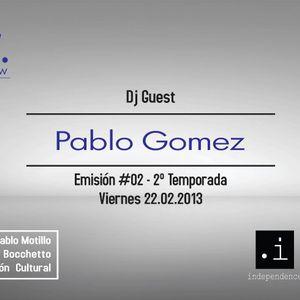 PUSLAR - DJ PABLO GOMEZ / entrevista JOE FISHER - 22.02.13 - BIOMARADIO.COM