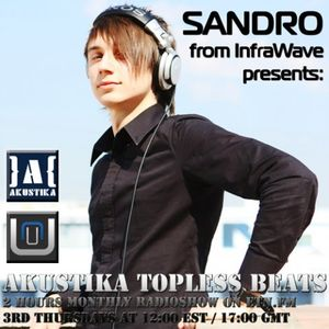 Denis Kuznetsov guestmix - Akustika Topless Beats 16 - June 2009