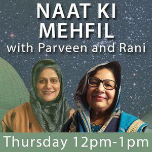 Naat Ki Mehfil Show 9th June 2016