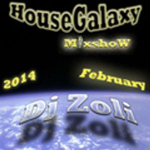 Dj Zoli - HouseGalaxy MixshoW 2014.02.07.