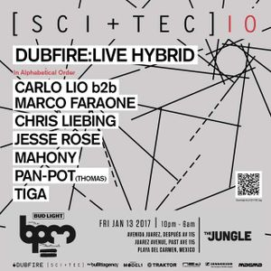 Chris Liebing - Live @ SCI+TEC, The Jungle, The BPM Festival, México (13.01.2017)