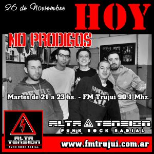 ALTA TENSION Prog 249 - Inv:No Prodigos