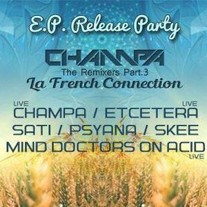 Etcetera Live ft Oliver Nolan Live Guitarist) Excerpt Champa E.P. Release Party Le Remixers @ London