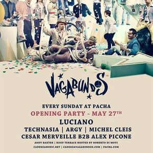 Technasia - Live @ Vagabundos Opening Party, Pacha Club, Ibiza, Espanha (27.05.2012)