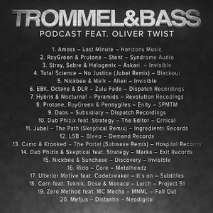 Trommel  & Bass Podcast 004 - Oliver Twist