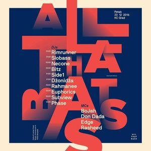 Rim Runner  - All That Bass promo mix