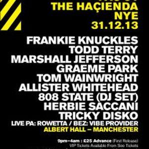 Frankie Knuckles live @ Hacienda NYE At The Albert Hall ( Manchester,UK) 31/ 12 /2003