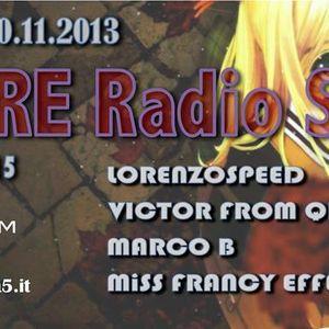 LORENZOSPEED present AMORE Radio Show 10 11 2013 with ViCTOR from Qbeek MARCO B part 2