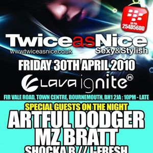 J Fresh @ Twice As Nice, Bournemouth, April 2010