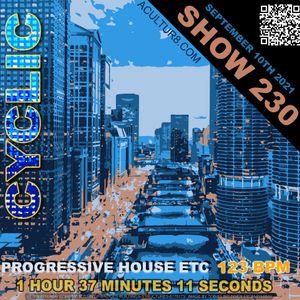 DJ Cyclic Show 230 part 3 of 3 - progressive