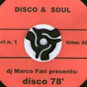 Dj Marco Farì presents: DISCO '78 PT.1
