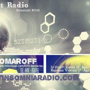 Komaroff - Progressive Planet Radio Broadcast #030 Ago 2012