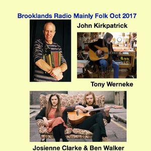 Brooklands Radio Mainly Folk October 2017