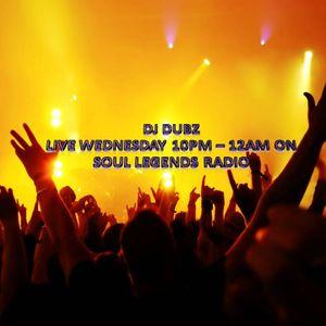 Dj Dubz SLR 80's soul mash n mix up Wed 28th Aug 13