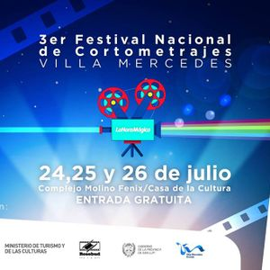 Martin Ochoa, Organizador del 3° Festival Nacional de Cortometrajes de Villa Mercedes 2015