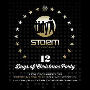 Sam Townend Live @ Tidy Storm. 12.12.15