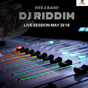 DANCEHALL & SOCA TURN UP SESSION - live on Five 3 Radio