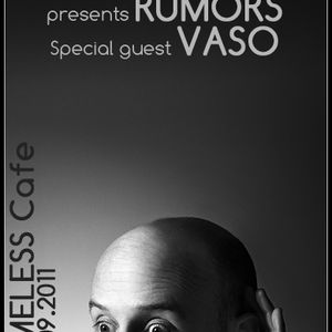 Vasko Netkovski - Live @ Rumors Night, Timeless Cafe, 30.09.2011