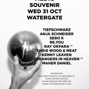 Ray Okpara @ BerMuDa 2012 - Mobilee meets Souvenir,Watergate Berlin (31.10.12)