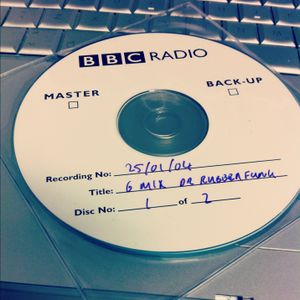 Dr Rubberfunk 6Mix on BBC 6Music January 2004