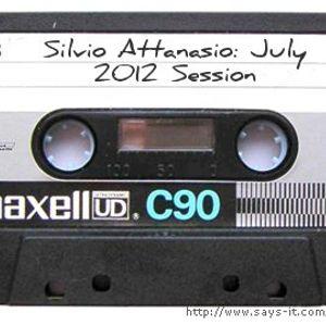 Silvio Attanasio: July 2012 Session