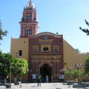 Muros que cuentan historias: Santa María Tonantzintla