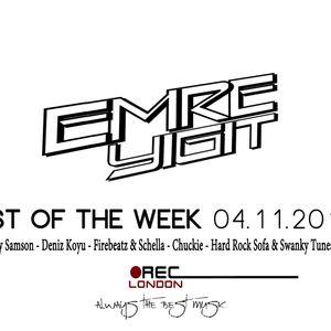 Emre Yiğit - Best Of The Week 04.11.2012
