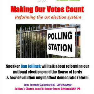 RFB: Greenspeak: 'Making Our Votes Count: Reforming the UK Electoral System'